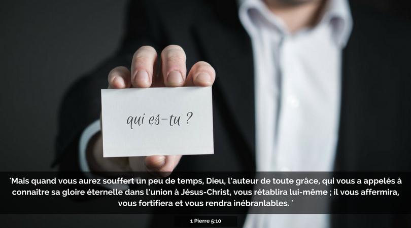 Vis ton identité en Christ – Message de François Ceccaldi