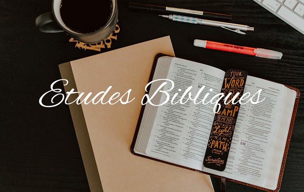 Replays – Études bibliques